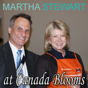 Martha Stewart at Canada Blooms