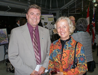 Mark Runciman and Judy Willmott