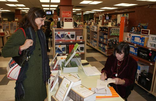 Marjorie Harris' book signing at McMaster University