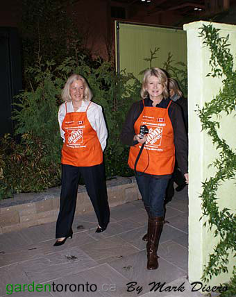 Annette Verschuren and Martha Stewart