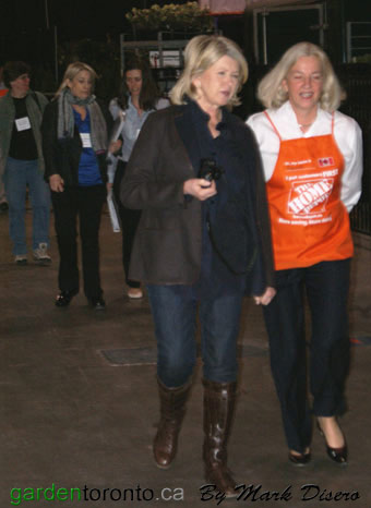 Martha Stewart and Annette Verschuren