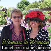 Woman to Woman, Luncheon Party in the Garden