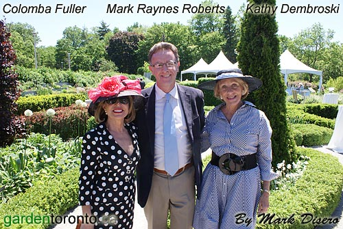 Colomba Fuller, Mark Raynes Roberts, and Kathy Dembroski