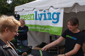 Green Living Booth